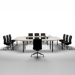 Layer Operative Desking System | Tavoli contract | Guialmi