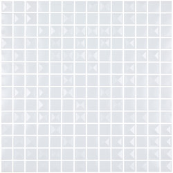 Aniversary - Pyramidal White Aniversary Mix | Mosaïques verre | Hisbalit