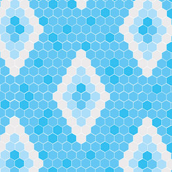 Geometric - Menorca | Glass mosaics | Hisbalit