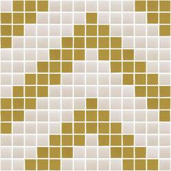Natural - Chevron | Glass mosaics | Hisbalit