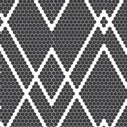 Retro - ZigZag | Mosaicos de vidrio | Hisbalit