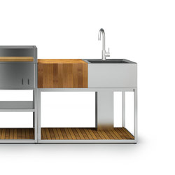 Garden Kitchen | Yacht Sideboard Y100 | Kitchen furniture | Röshults