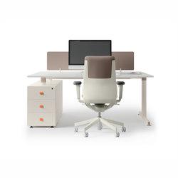 NOS Operative Desking System | Escritorios | Guialmi