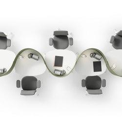 NOS Operative Desking System | Desks | Guialmi