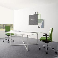 L System Operative Desking | Desks | Guialmi