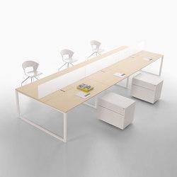 L System Operative Desking | Schreibtische | Guialmi