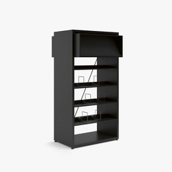 V2 Library Shelving | Regale | Guialmi