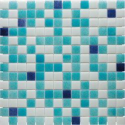 Water Mix - Ártico* | Glass mosaics | Hisbalit