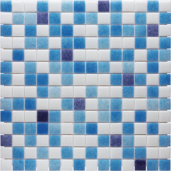 Water Mix - Coral* | Glass mosaics | Hisbalit