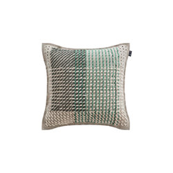Canevas Geo Cushion Green | Cojines | GAN