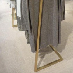 Clothes Rail In Brass | Coat racks | YDF