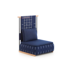 Lan small module with back | Armchairs | GAN