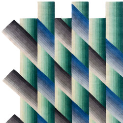 Mirage blue | Formatteppiche | GAN