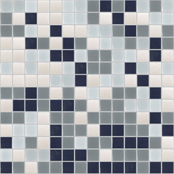 Degradado - Santorini | Mosaicos de vidrio | Hisbalit