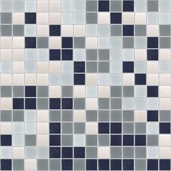 Gradations - Santorini | Glass mosaics | Hisbalit