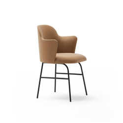 Aleta chair with arms | Chairs | viccarbe