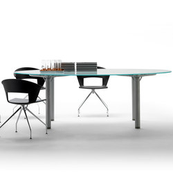 Layer Operative Desking System | Tables collectivités | Guialmi