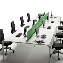 Layer Operative Desking System | Contract tables | Guialmi