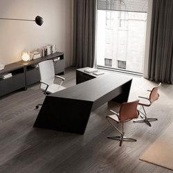 Origami Executive Desk Dark | Desks | Guialmi