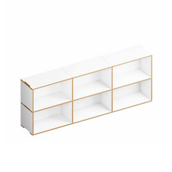 Benji Bookcase 6 3.2 | Regale | Morfus