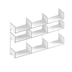 Walli 6 3.3 | Shelving | Morfus