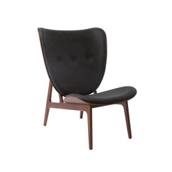 Elephant Chair, Dark Stained / Vintage Leather Antrachite | Armchairs | NORR11