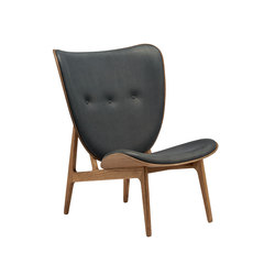 Elephant Chair, Smoked Oak / Vintage Leather Antrachite | Armchairs | NORR11