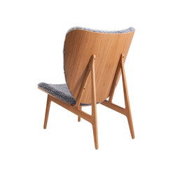 Elephant Chair, Natural / Sheepskin: Graphite | Poltrone | NORR11
