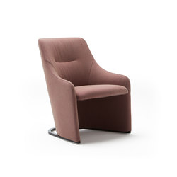 Nagi Low Smooth | Fauteuils | viccarbe
