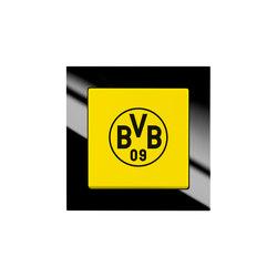 Fanschalter Borussia Dortmund | Interruptores pulsadores | Busch-Jaeger