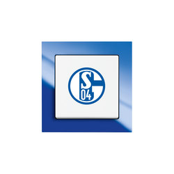 Fanschalter FC Schalke 04 | Push-button switches | Busch-Jaeger