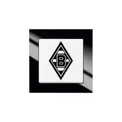 Fanschalter Borussia Möchengladbach | Interruptores pulsadores | Busch-Jaeger