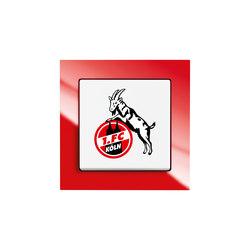 Fanschalter 1. FC Köln | Push-button switches | Busch-Jaeger