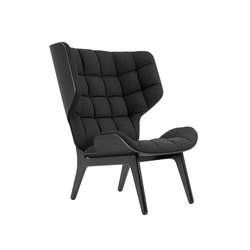 Mammoth Chair, Black / Wool: Coal Grey 067 | Armchairs | NORR11