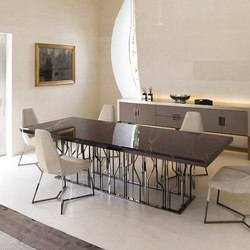 Ginza Table | Dining tables | Longhi S.p.a.