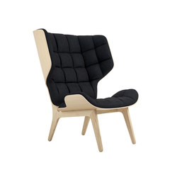 Mammoth Chair, Natural / Velvet: Midnight Blue 1678 | Sillones | NORR11
