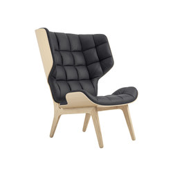 Mammoth Chair, Natural / Vintage Leather Anthracite 21003 | Armchairs | NORR11