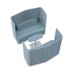 Organic Link Lounge Modules | Sofas | Viasit