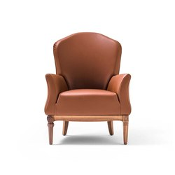 Dafne Armchair | Sessel | black tie