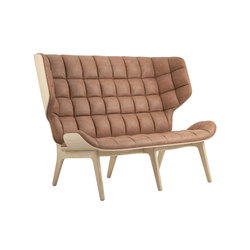 Mammoth Sofa, Natural / Vintage Leather Camel 21004 | Canapés | NORR11