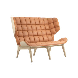 Mammoth Sofa, Natural / Vintage Leather Cognac 21000 | Sofas | NORR11