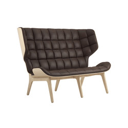 Mammoth Sofa, Natural / Vintage Leather Dark Brown 21001 | Canapés | NORR11