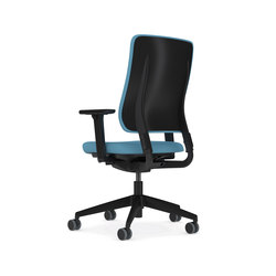 Drumback - Task Chair Iron Black | Office chairs | Viasit