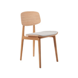 NY11 Dining Chair, Natural - Kvadrat Hallingdal65 116 | Chaises | NORR11