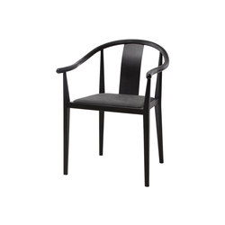 Shanghai Dining Chair, Black - Vintage Leather Anthracite | Sedie | NORR11
