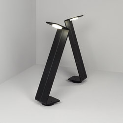 Bent zzz black | Outdoor floor-mounted lights | Dexter