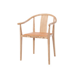 Shanghai Dining Chair, Smoked Ash - Vintage Leager Cognac | Chairs | NORR11