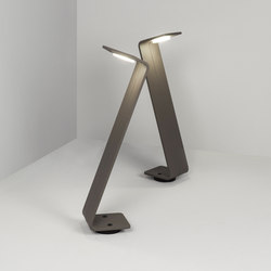 Bent zzz grey | Lampade outdoor su pavimento | Dexter