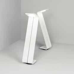 Bent zzz white | Lampade outdoor su pavimento | Dexter