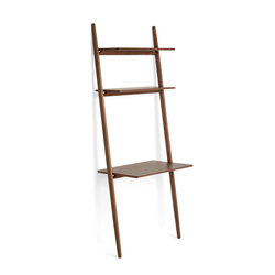 "Folk Ladder 32"" Desk Shelving 
